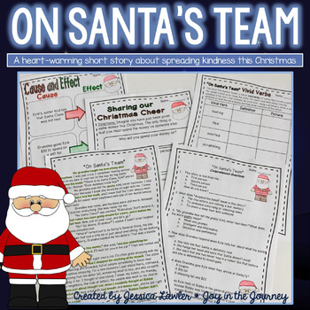 Christmas Reading Comprehension - On Santa's Team