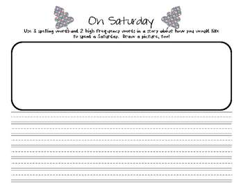 On Saturday