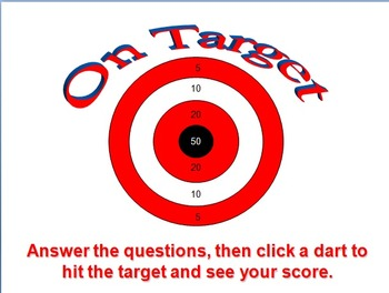 On Target (PowerPoint Game Template)