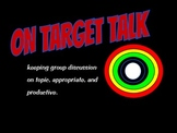 On Target Talk:Communication in a Cooperative Learning GroupPDF