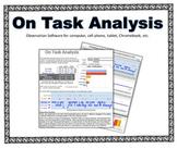 On Task Analysis - software
