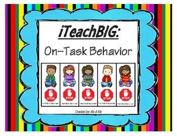 On-Task Behavior Cards