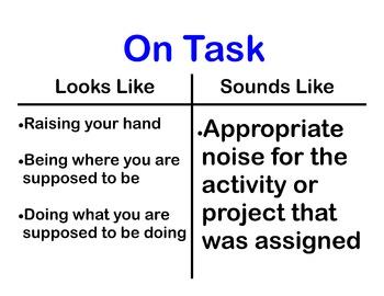 On Task Poster