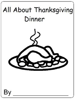 On Thanksgiving Dinner Adapted, Interactive Book