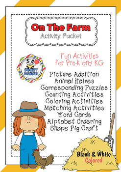 On The Farm Activity Pack