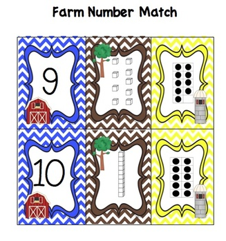 On The Farm! Early Childhood Math and Literacy Centers