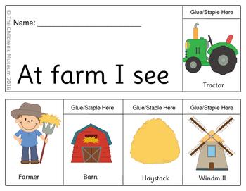 On The Farm Flip Book