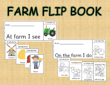 On The Farm Flip Book