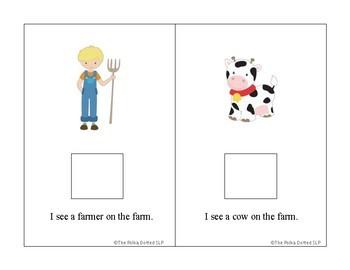On The Farm Interactive Book