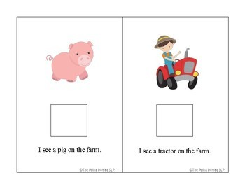 On The Farm Interactive Book