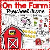 On The Farm Preschool Theme