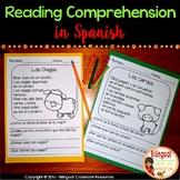 Lectura de comprensión- Reading Comprehension In Spanish
