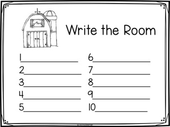 Write the Room: Farm