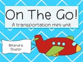 On The Go! A Transportation Activity Pack
