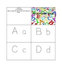On The Go Alphabet Learning Packet