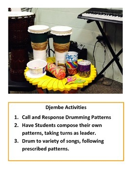 On-The-Go Music Boards/ World Music/Djembe
