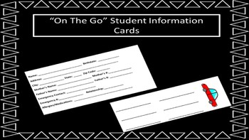 On The Go Student Information