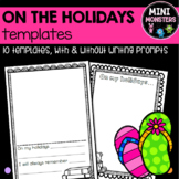 On The Holidays Templates