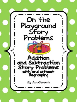 On The Playground Story Problems