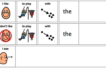 On The Playground Unit-Adaptive Book and more (Autistm/Early Language Learners)