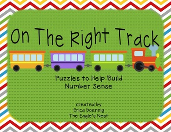 On The Right Track--Number Puzzles to Develop Number Sense