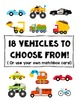 On The Road Alphabet Tracers - Upper + Lowercase Letters and Cars Included!