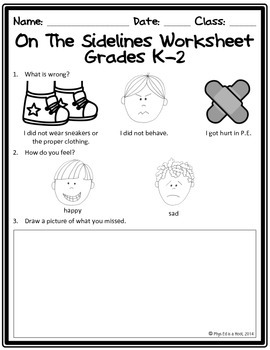 It is a picture of Dashing Physical Education Printable Worksheets