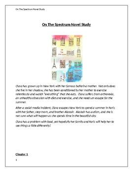 On The Spectrum Novel Study