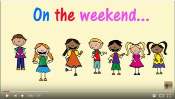 On The Weekend (Weekend recount song)