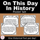 On This Day In US History - Poster Set