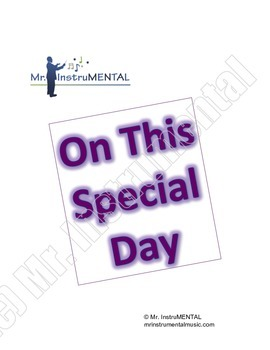 On This Special Day - Easy Solo/Duet for Band Instruments