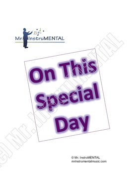 On This Special Day - Easy Solo/Duet for String Instruments
