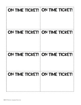 Tardy Middle School Students? Try On Time Tickets!