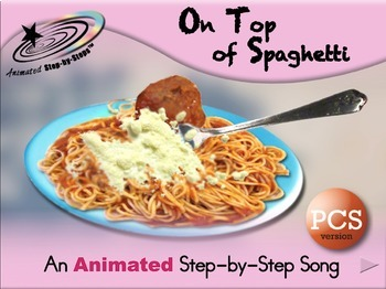 On Top of Spaghetti - Animated Step-by-Step Song PCS