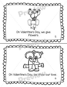 On Valentine's Day Emergent Reader 2