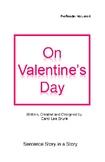 'On Valentines Day' Volume 6  PreReader by Carol Lee Brunk