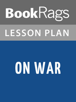 On War Lesson Plans