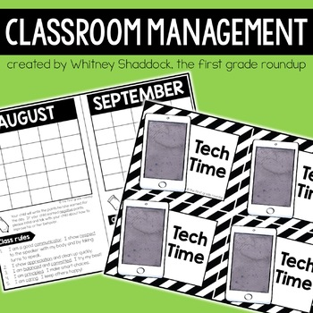 Classroom Management Packet, Elementary