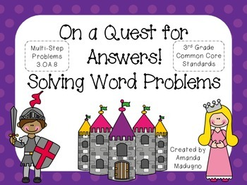 On a Quest for Answers: Solving 3rd Grade Word Problems