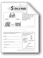On a Walk (Thinking Skills)