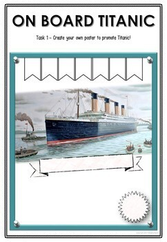 On board the Titanic - Worksheets