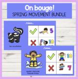 On bouge! DIGITAL Movement BUNDLE for Spring