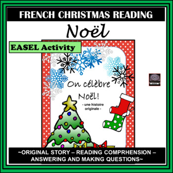 On célèbre Noël – We're celebrating Christmas – an original Christmas Story