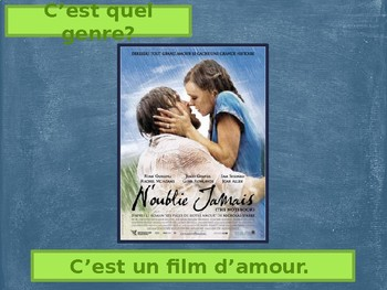 Au cinéma On s'amuse (French Entertainment) Vocabulary PowerPoint