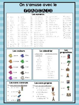 On s'amuse avec le français: Un aide-mémoire
