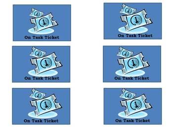 On task Tickets