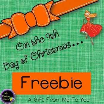 On the 9th Day of Christmas FREEBIE