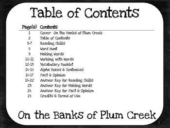 On the Banks of Plum Creek  4th Grade Harcourt Storytown Lesson 6