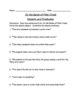 On the Banks of Plum Creek Reading (Scott Foresman Reading Street)
