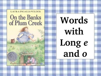 On the Banks of Plum Creek: Spelling PowerPoint